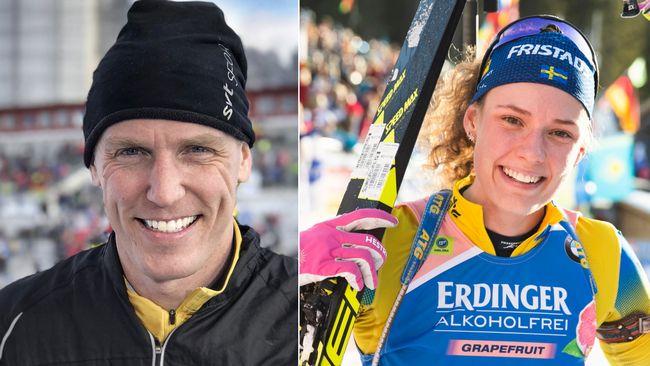 """Björn Ferry: """"Ser jättebra ut"""""""