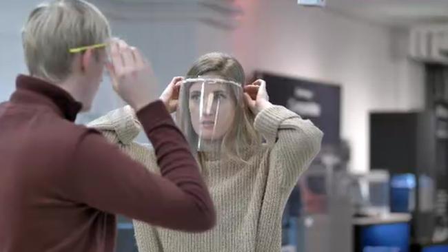Nya beskedet: Inga böter för 3D-printade skyddsvisir i vården