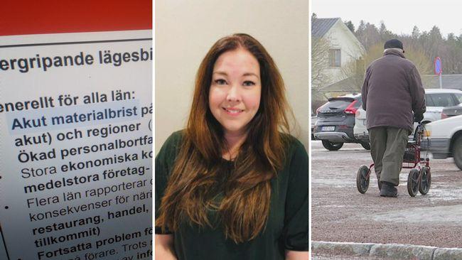 """Larmet från kommunerna: Bristen på skyddsmaterial """"akut"""""""