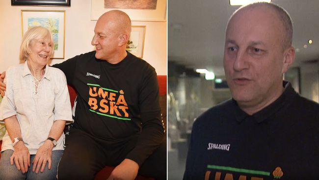 Sportchefen hjälper äldre i Umeå – med pappan isolerad i Italien
