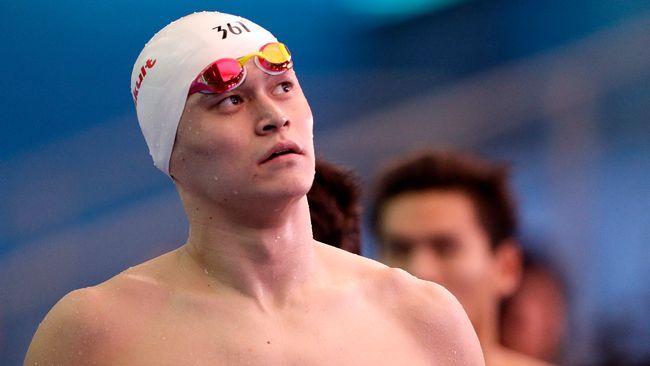 Trots åtta års avstängning – Sun Yang kallad till OS-läger