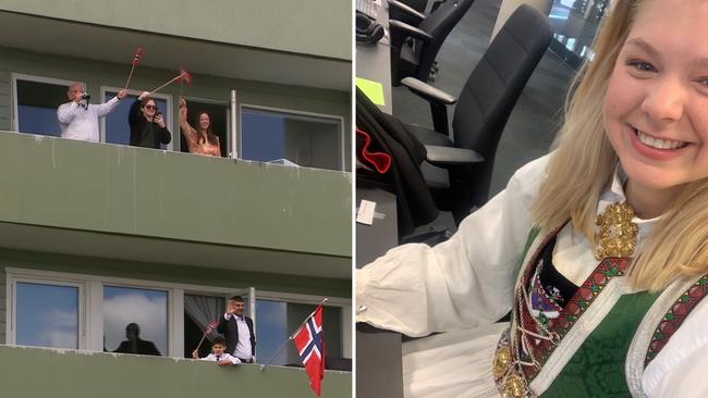 Annorlunda firande av Norges nationaldag