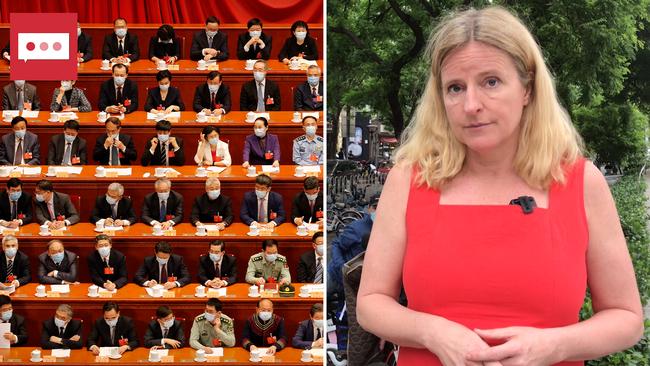 Spänd förväntan när den kinesiska folkkongressen möts
