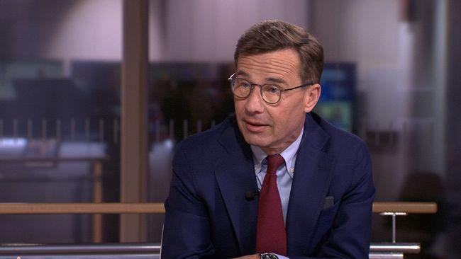 Kristersson (M): Vill Vänsterpartiet avsätta regeringen skulle jag inte tveka ett ögonblick