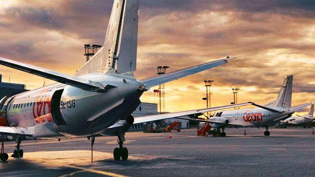 Ännu ett flygbolag trafikerar Halmstad-Bromma