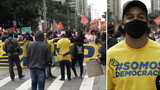 """Krönika: """"Många vi möter är oroliga för demokratin i coronakrisens Brasilien"""""""