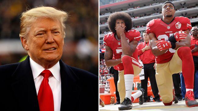 Trump kovänder om Colin Kaepernick