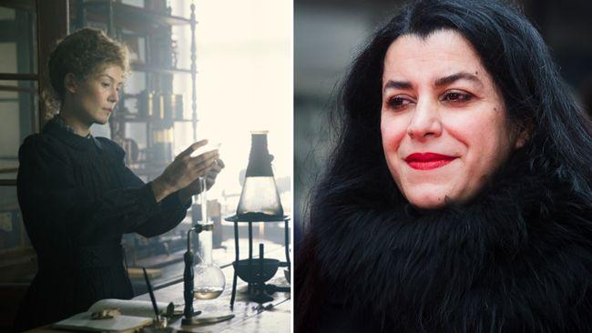 Marjane Satrapi om Marie Curie: Insåg hur tuff hon var