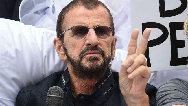 Liverpool hyllas av ex-Beatles-medlemmen Ringo Starr