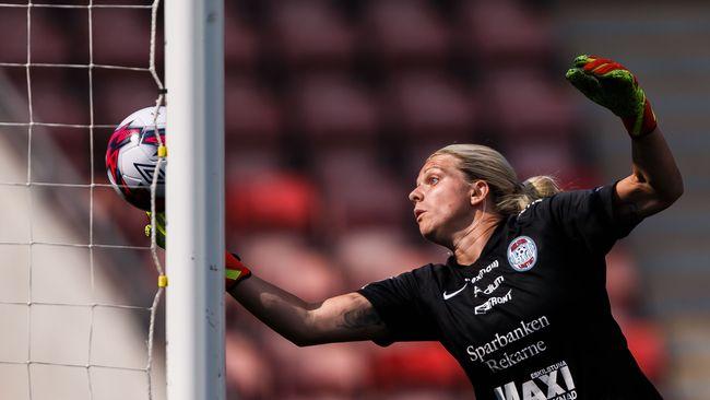 Dundertavla av Eskilstunas målvakt – i målrika matchen