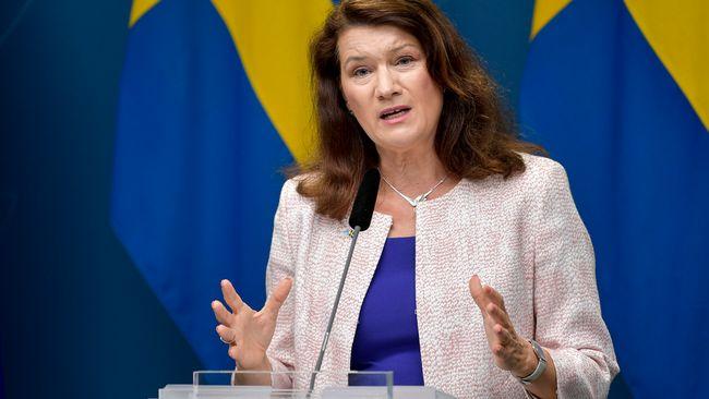 """Ann Linde om Greklandsresor: """"Överväg lämpligheten"""""""