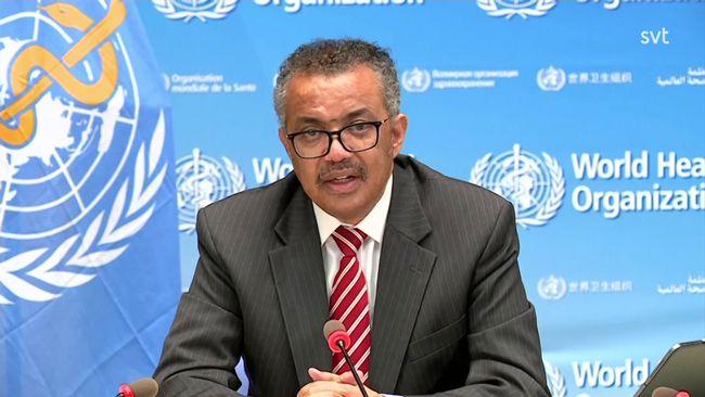 WHO-chefen: Det största hot som vi står inför är inte viruset