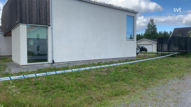 Misstänkt beskjutning mot villa i Luleå