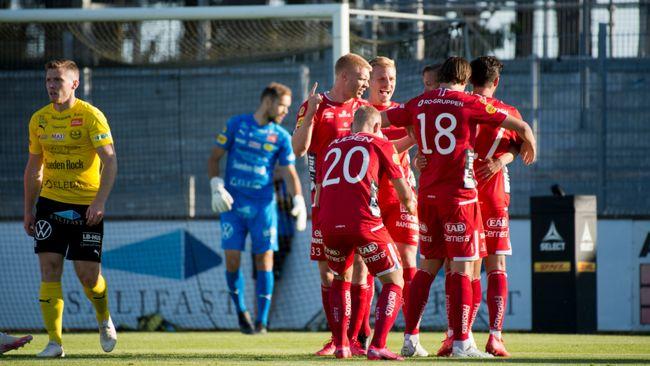 Elfsborg krossade Mjällby – gjorde fyra före paus