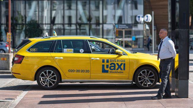 """Taxiförarnas larm i pandemin: """"Ett helvete"""""""