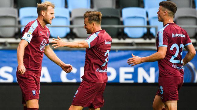 Toivonen ger Malmö ledningen i finalen