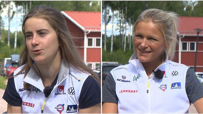 """Ebba Andersson: """"Det är med skräckblandad förtjusning"""""""