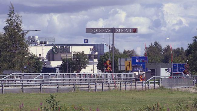 Finland öppnar gränsen för boende i gränskommuner