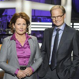 Programledare Camilla Kvartoft, Anna Hedenmo och Mats Knutsson.
