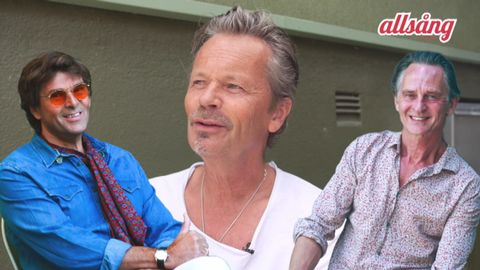 "Niklas Strömstedt, Anders Glenmark och Thomas ""Orup"" Eriksson."