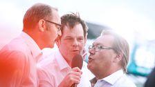 Loffe Rohlin, Micke Lind, Nisse Sundström.