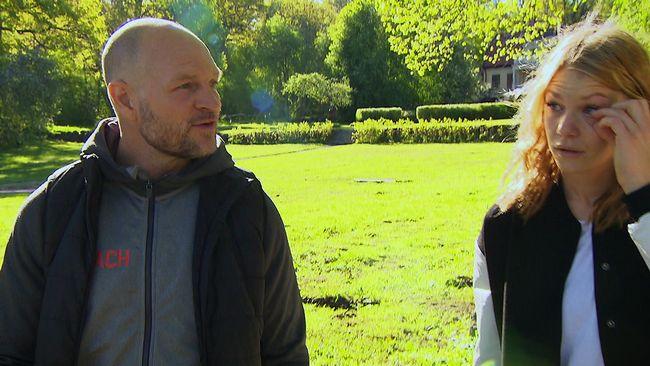 Coachen Per Fosshaug med Jennie Glarbjerg.