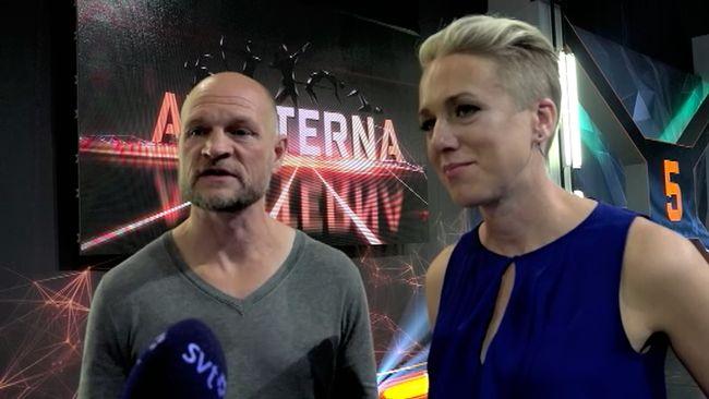 Kajsa Bergqvist och Per Fosshaug.