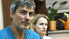Paolo Macchiarini med en kollega