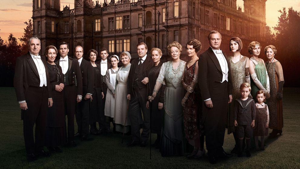 Karaktärerna i sjätte säsongen av Downton Abbey.