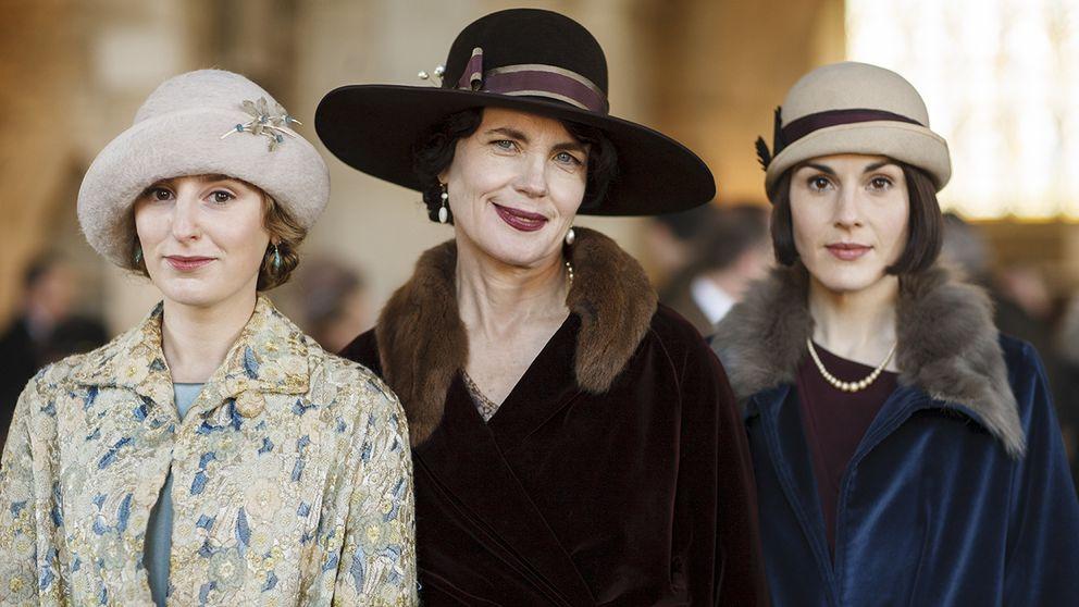 Downton abbey tappar en miljon tittare