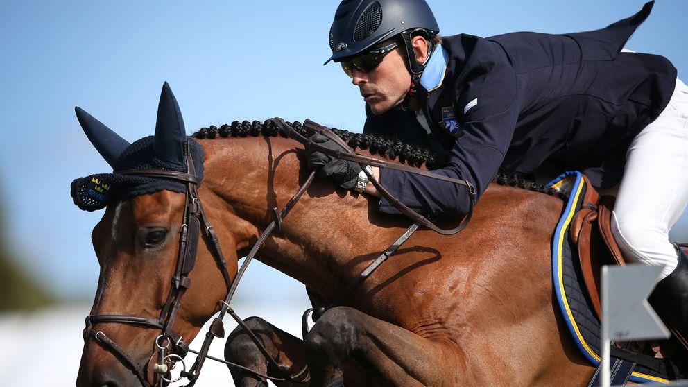 Peder Fredricson och All in under Falsterbo Horse Show.