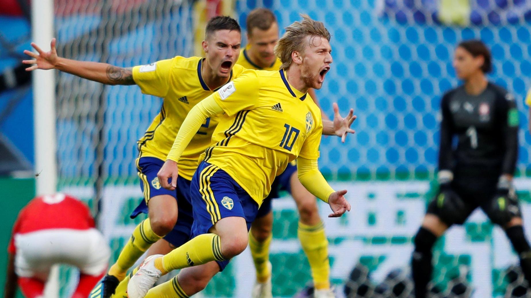 Sverige vinner med fyra sekunder kvar
