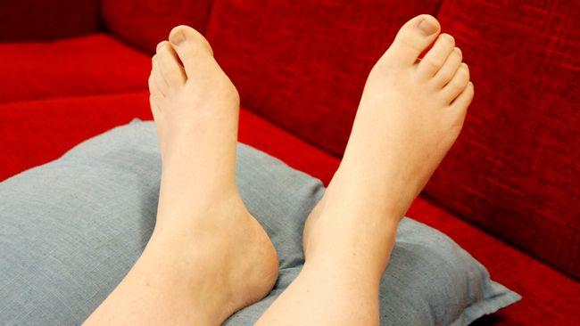 surrar i fötterna
