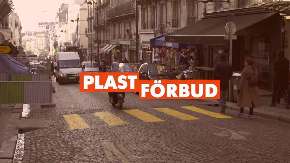 Frankrike tar täten inom EU när det gäller att minska anvädningen av plast. Där har lagar klubbats igenom som sätter stopp för påsar och annat.