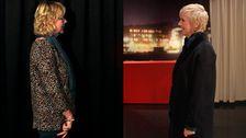 Annika Carbom fick en ny och kortare frisyr – och färgen är betydligt nyare än 80-talet.