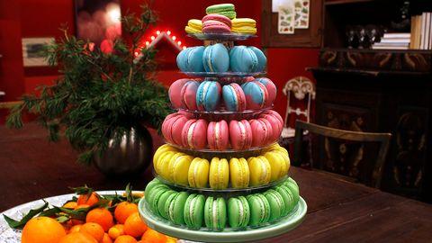 Gustafs macarons.
