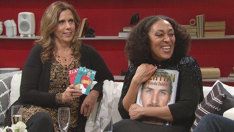 Anna-Karin Ferm och Fransesca Quartey bjuder på några extra boktips till jul.