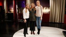 Katarina Törnblom fick hjälp av Satu Manganas och Eva-Lena Rylander med att hitta en ny stil.