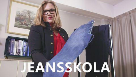 Stylisten Hulda Andersson tipsar om hur du ska tänka för att hitta jeans som passar perfekt.
