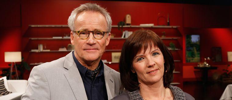 C-G Karlsson och Agneta Norrgård.