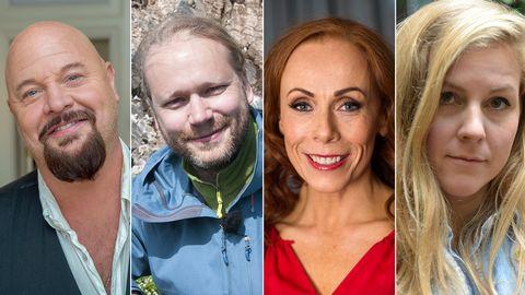 Anders Bagge, Martin Emtenäs, Rachel Mohlin och Linnea Olsson är några av veckans gäster.