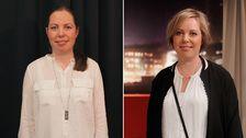 Karin Åsblom strålar i den nya stilen.