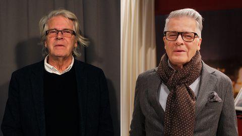 Bengt före och efter sin förvandling.