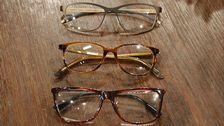 Glasögon (nerifrån och upp): Gucci, William Morris, Ørgreen.