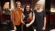 Bakom Emmas ny hår och stil står Eva-Lena Rylander och Hedvig Andér.