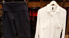 Byxa och skjorta.