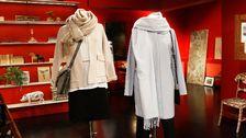 Docka 2: Byxor Lindex. Blus mönstrad, Saint Tropez. Kappa, Gina tricot. Väska, Lindex. Halsduk, Monki.
