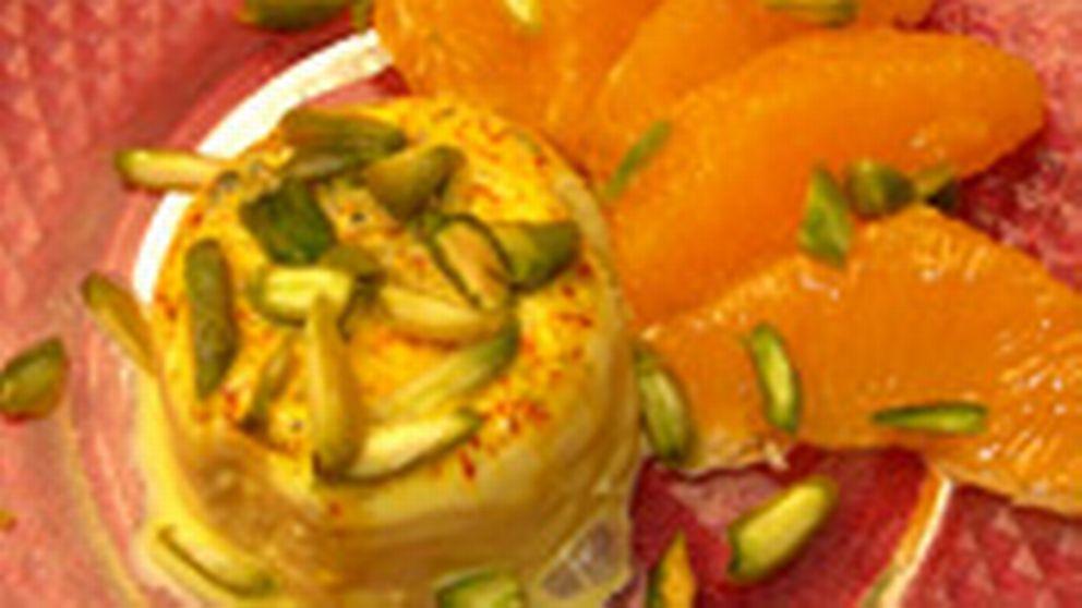 indisk dessert med gulrøtter