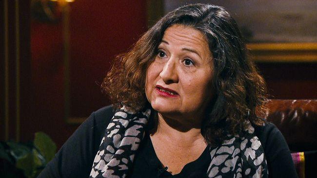 Professorn i kulturgeografi Irene Molina.