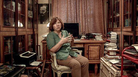 Nobelpristagaren Svetlana Aleksijevitj